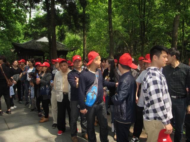 """全体员工杭州,千岛湖欢乐度""""五一""""_安庆横电电缆有限"""